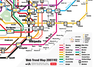 Web Trend Map 2007 Version 2.0
